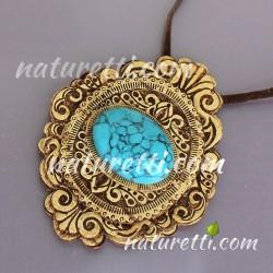 Amulett aus sibirischer Birkenrinde