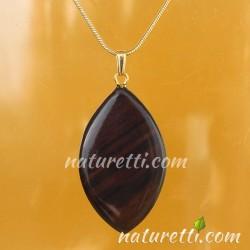 Kettenanhänger aus Holz Amulett
