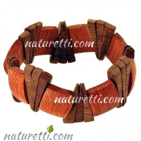 Modeschmuck Armschmuck Armband aus Holz