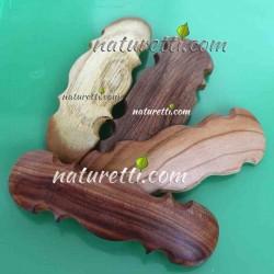 Holz Haarspange im Orient...
