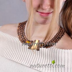 Collier Halskette JANNY aus...