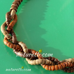 Holzschmuck Damen Halskette