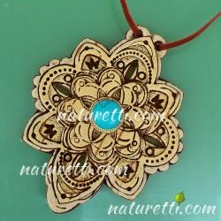 Amulett mit Türkis