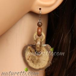 Holz Ohrhänger Oak Dream groß
