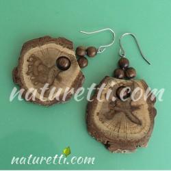 Holz Ohrringe