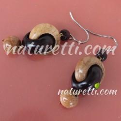 Holz Ohrhänger