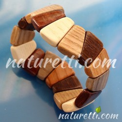 Holz Armschmuck Armband aus...
