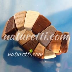 Armschmuck aus Holz