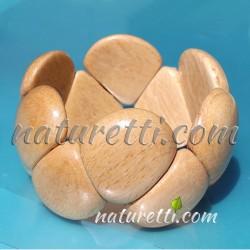 Statement Holz Armschmuck Armband aus Holz