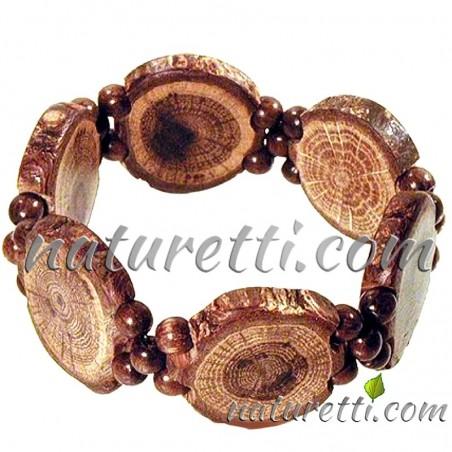 Holzschmuck Armschmuck Armband aus Holz