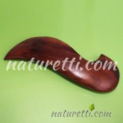 Haarspange aus Kirschbaumholz