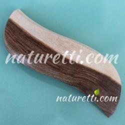 Haarspange aus Pistazienholz