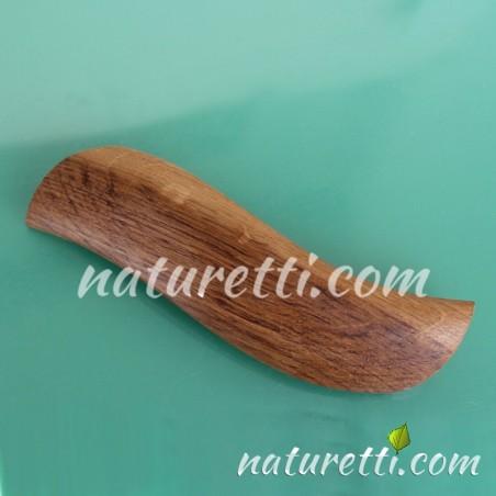 Holz Haarspange aus Eichenholz