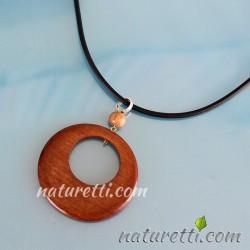 Holzschmuck Halskette
