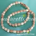 Gummi Holz Halskette