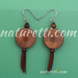 Holzschmuck Ohrringe