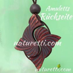 Amulett aus sibirischem Zedernholz