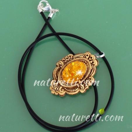 Glücksbringer, Amulett aus sibirischer Birkenrinde