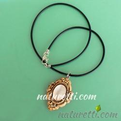 Amulett mit Katzenauge Heilstein