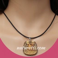 Schamanen Amulett aus sibirischer Birkenrinde
