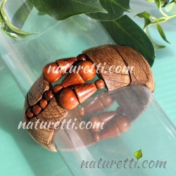 Holzschmuck Armband elastisch