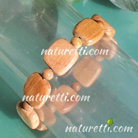 Unisex Holz Armschmuck Armband aus Holz