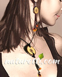 Wood Amber and Fantasy jewelry collection