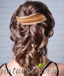 Haarschmuck aus Edelholz kunsthandwerklich gefertigt. Unikate.