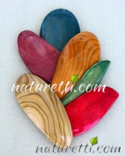 Holz Haarschmuck Im puristischen Design
