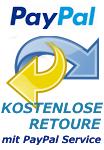 Kostenlose Retoure mit PayPal Service